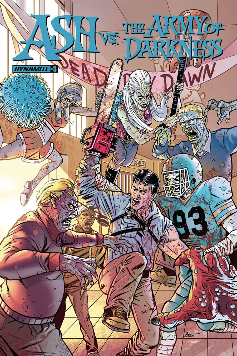 Ash vs The Army Of Darkness #3 Cover A Regular Brent Schoonover Cover
