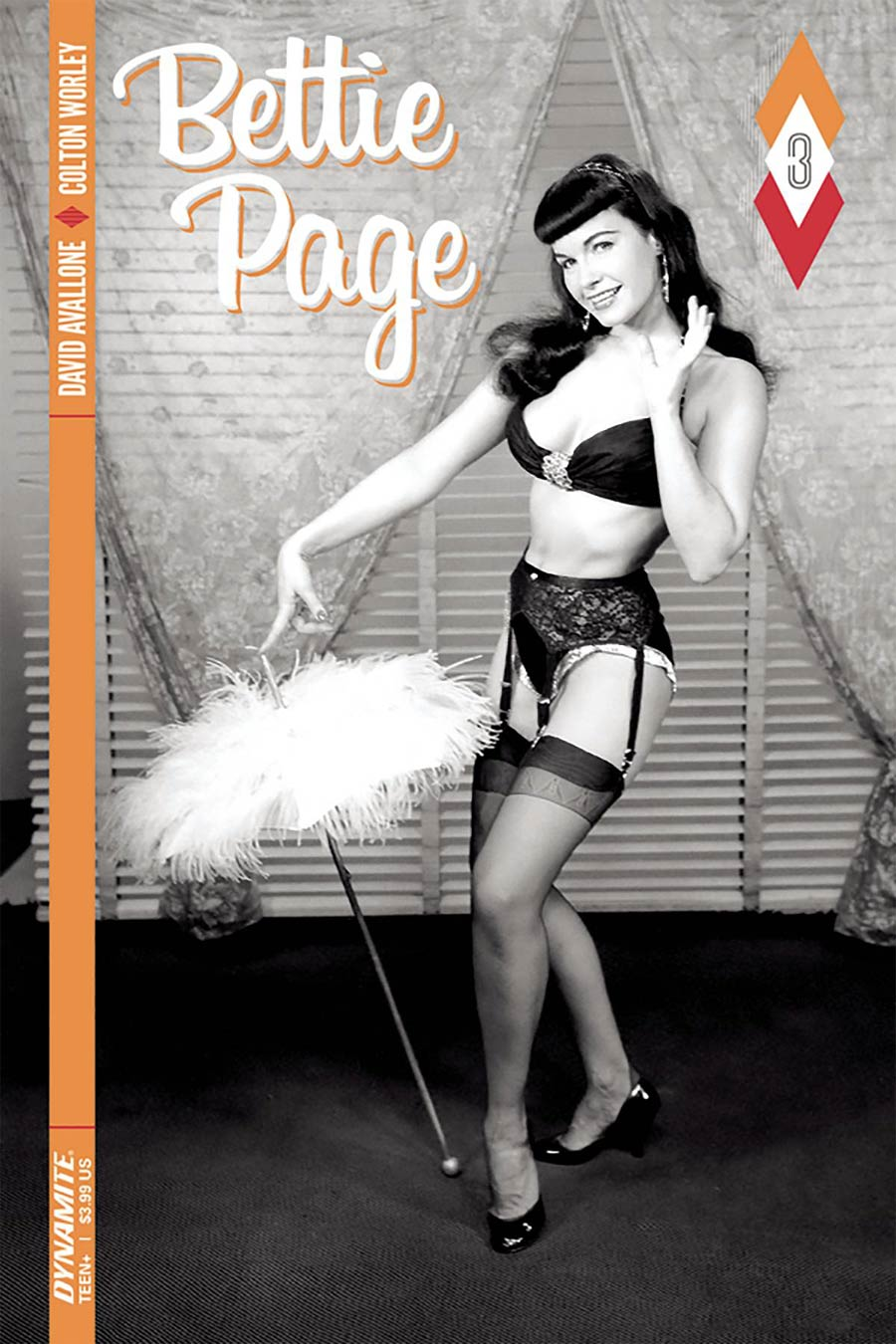 Bettie Page #3 Cover C Variant Photo Cover