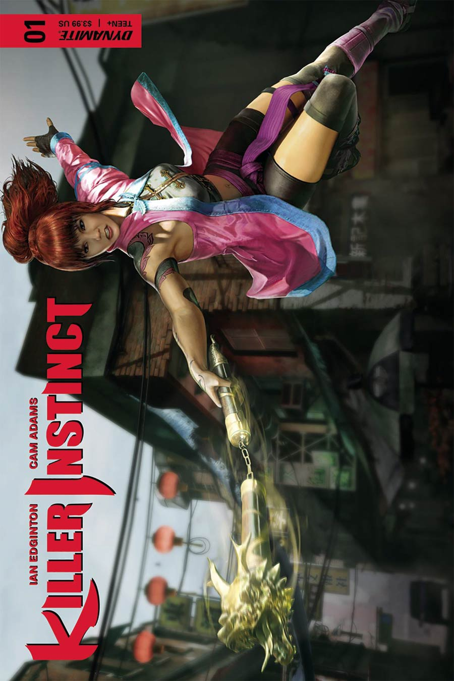 Killer Instinct Vol 2 #1 Cover D Variant Game Play Cover