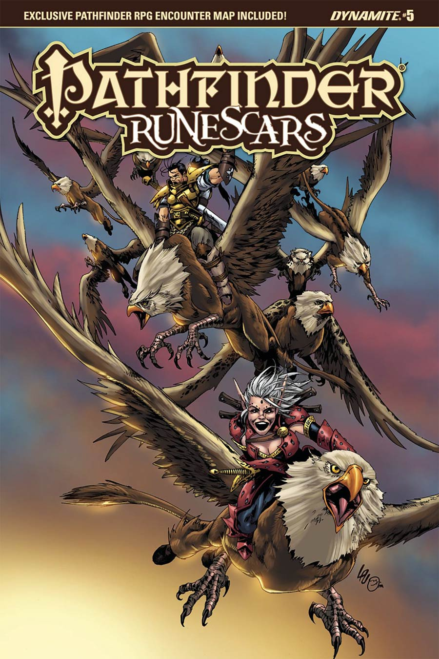 Pathfinder Runescars #5 Cover A Regular Jonathan Lau Cover