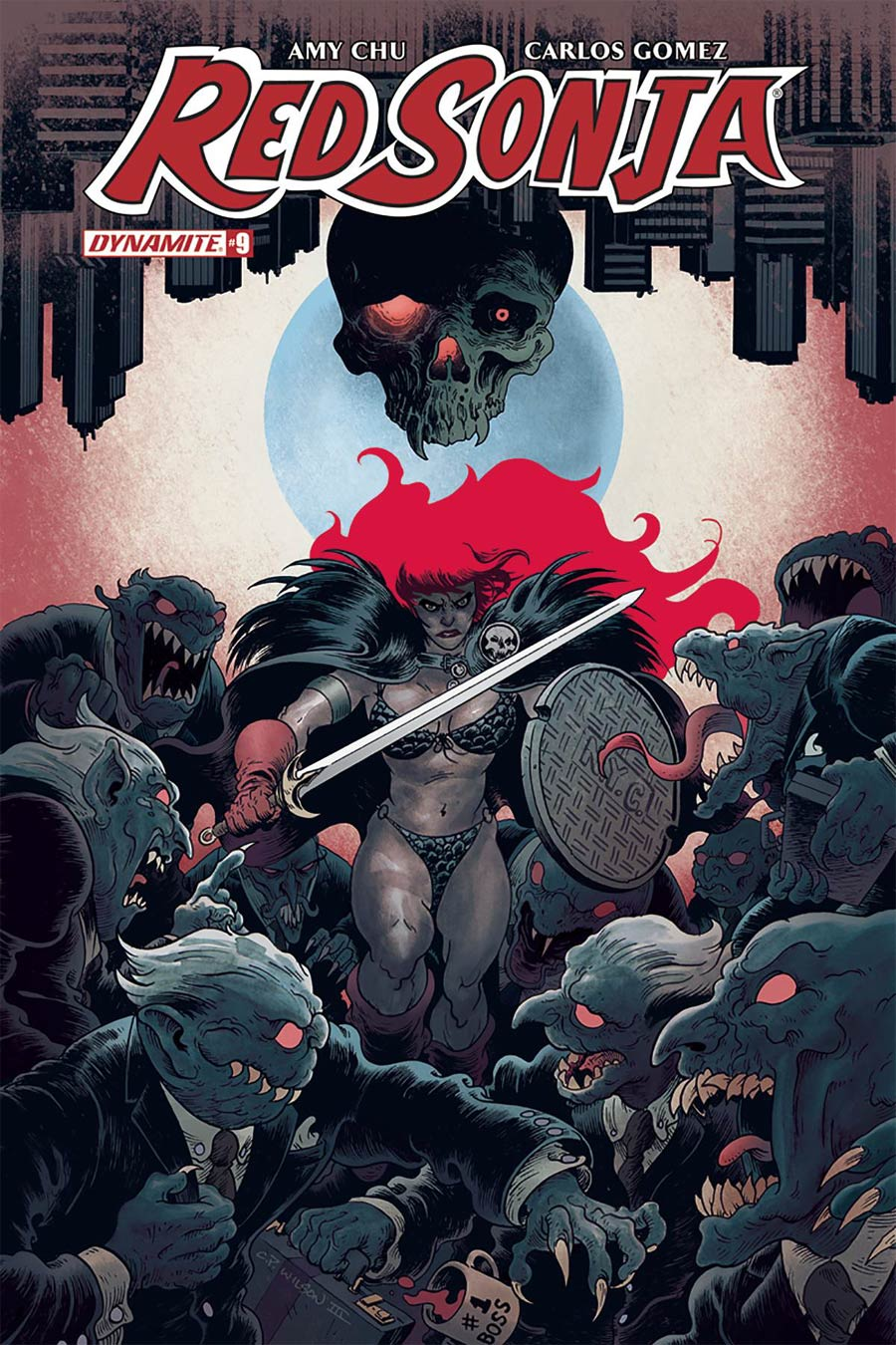 Red Sonja Vol 7 #9 Cover B Variant Charles Wilson III Cover