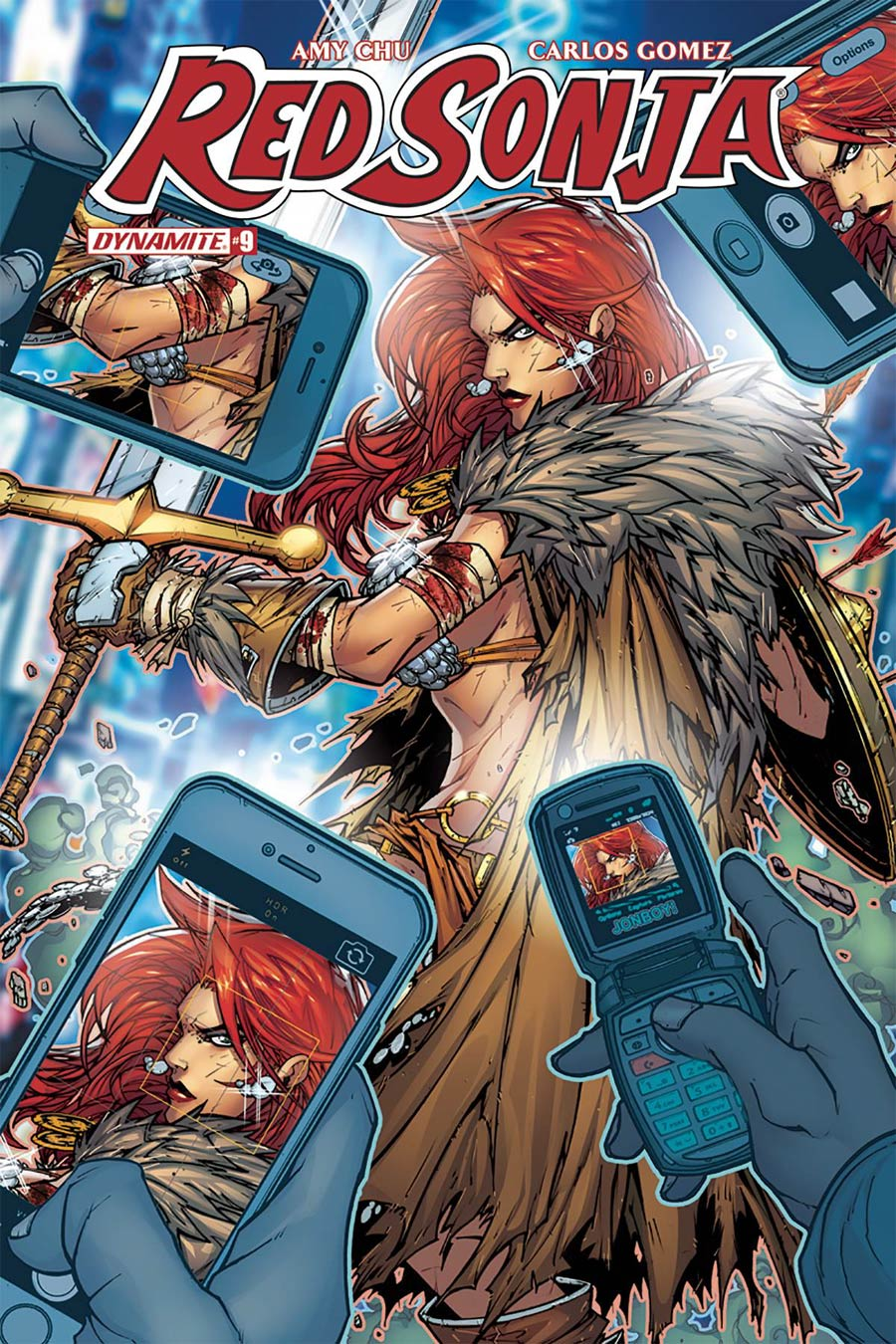 Red Sonja Vol 7 #9 Cover C Variant Jonboy Meyers Cover