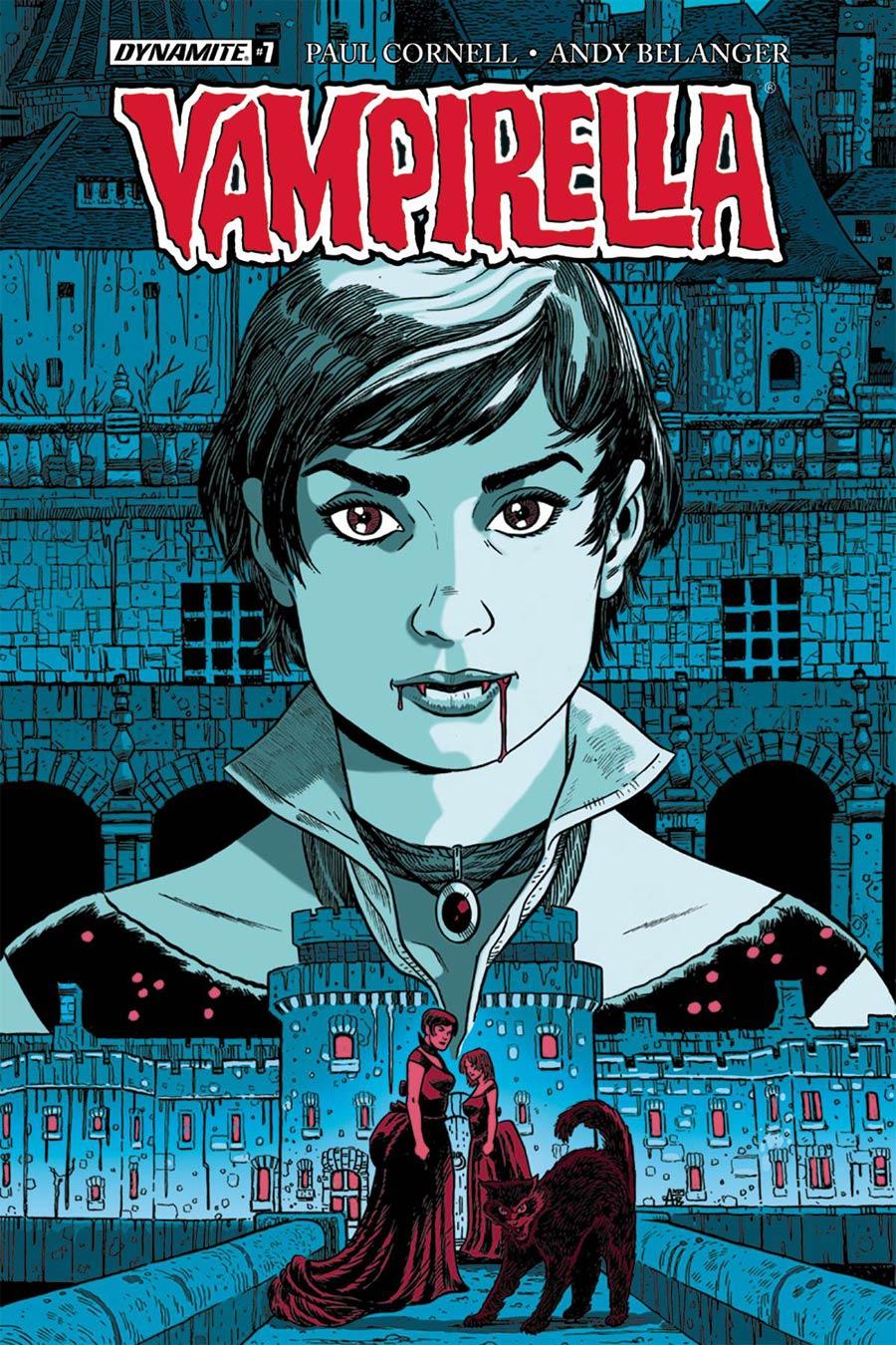 Vampirella Vol 7 #7 Cover B Variant Andy Belanger Cover