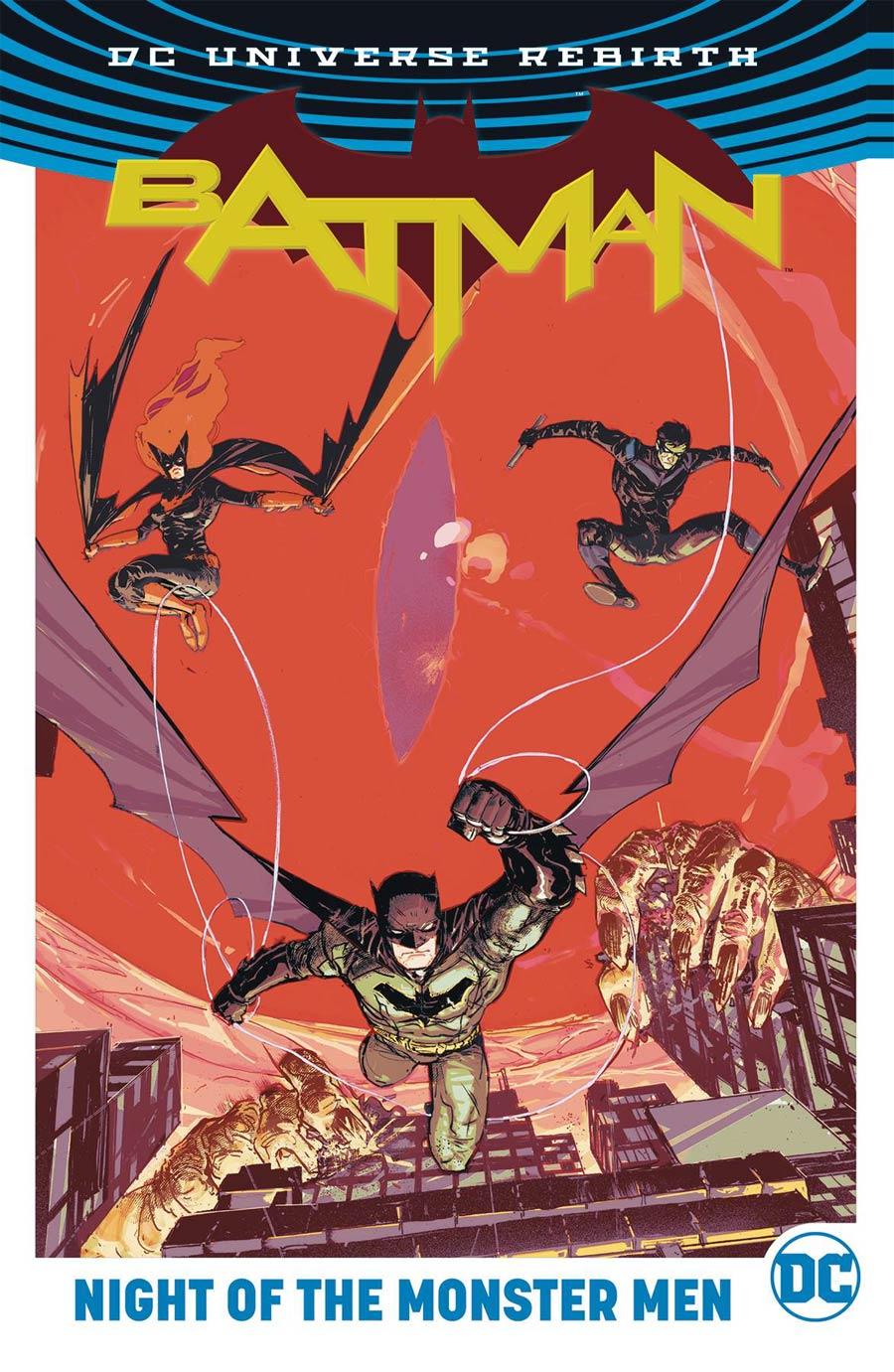 Batman Night Of The Monster Men TP (Rebirth)