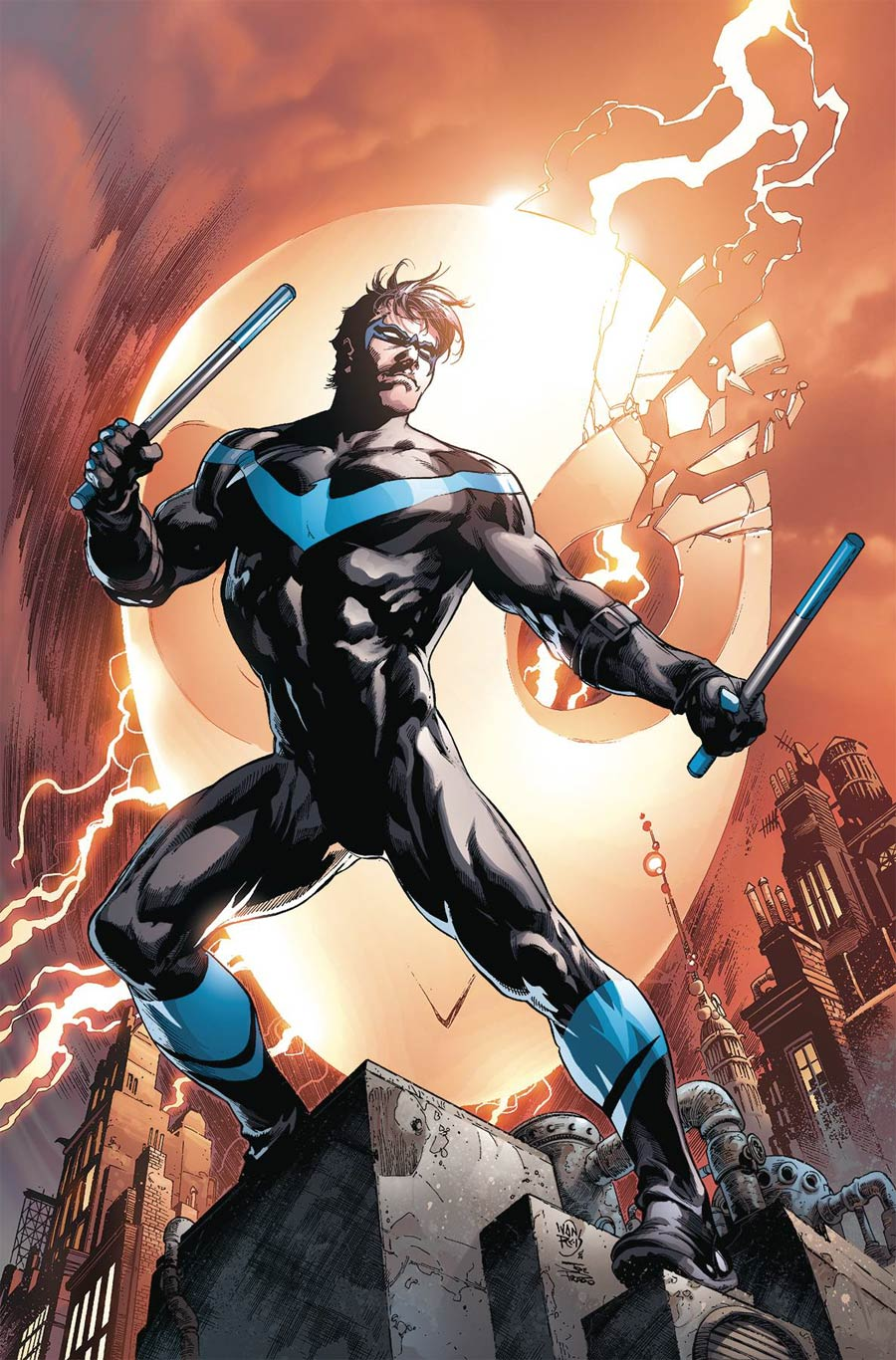 Nightwing Rebirth Deluxe Collection Book 1 HC