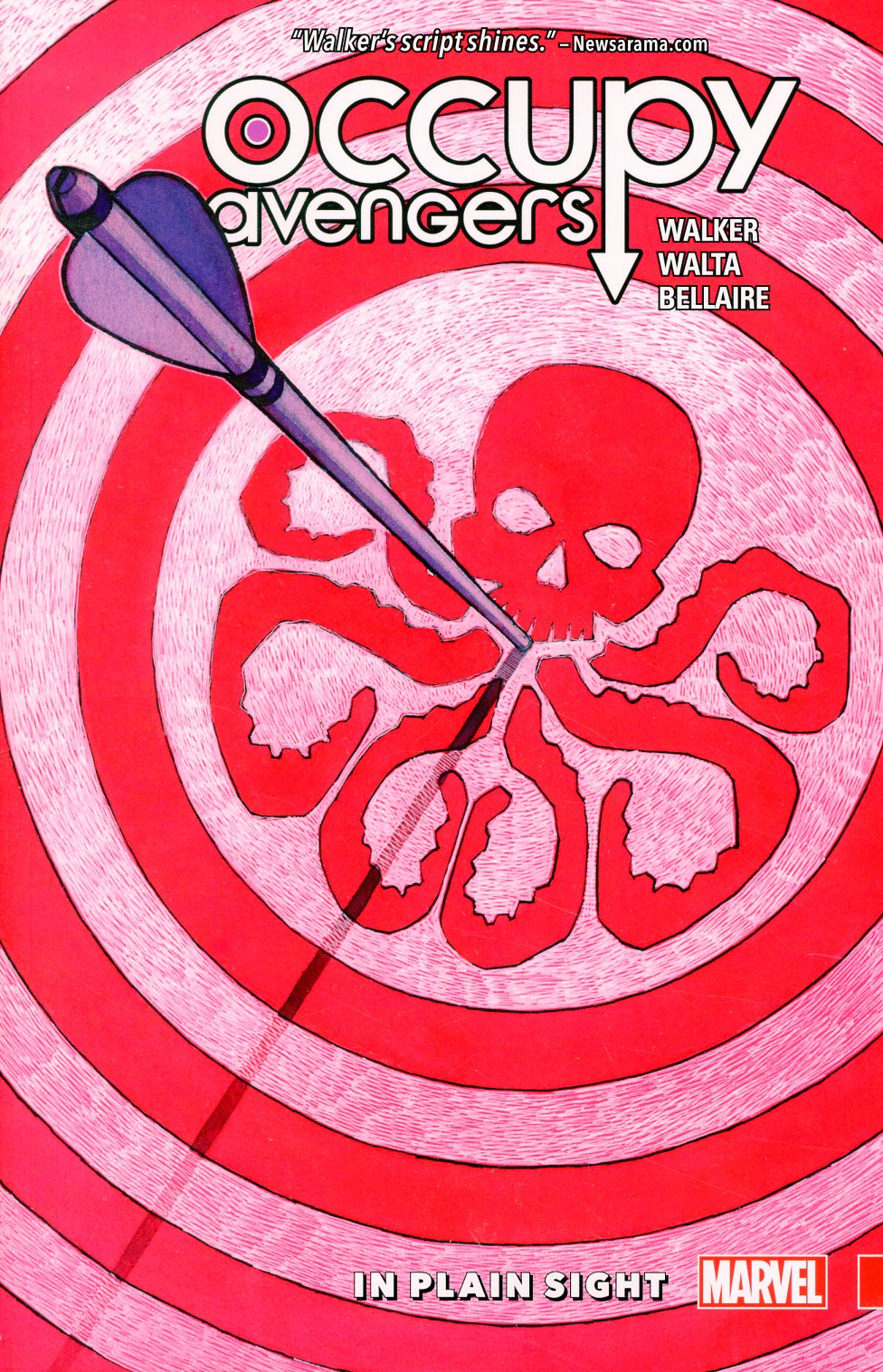 Occupy Avengers Vol 2 In Plain Sight TP