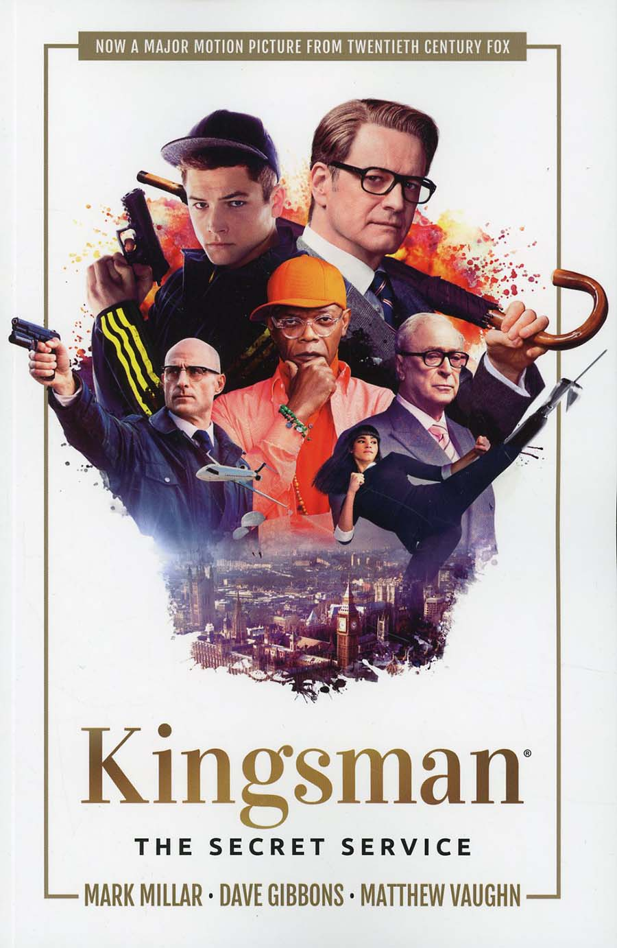 Kingsman Secret Service TP Cover B Variant Movie Cover
