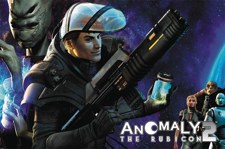 Anomaly Vol 2 Rubicon HC Regular Edition