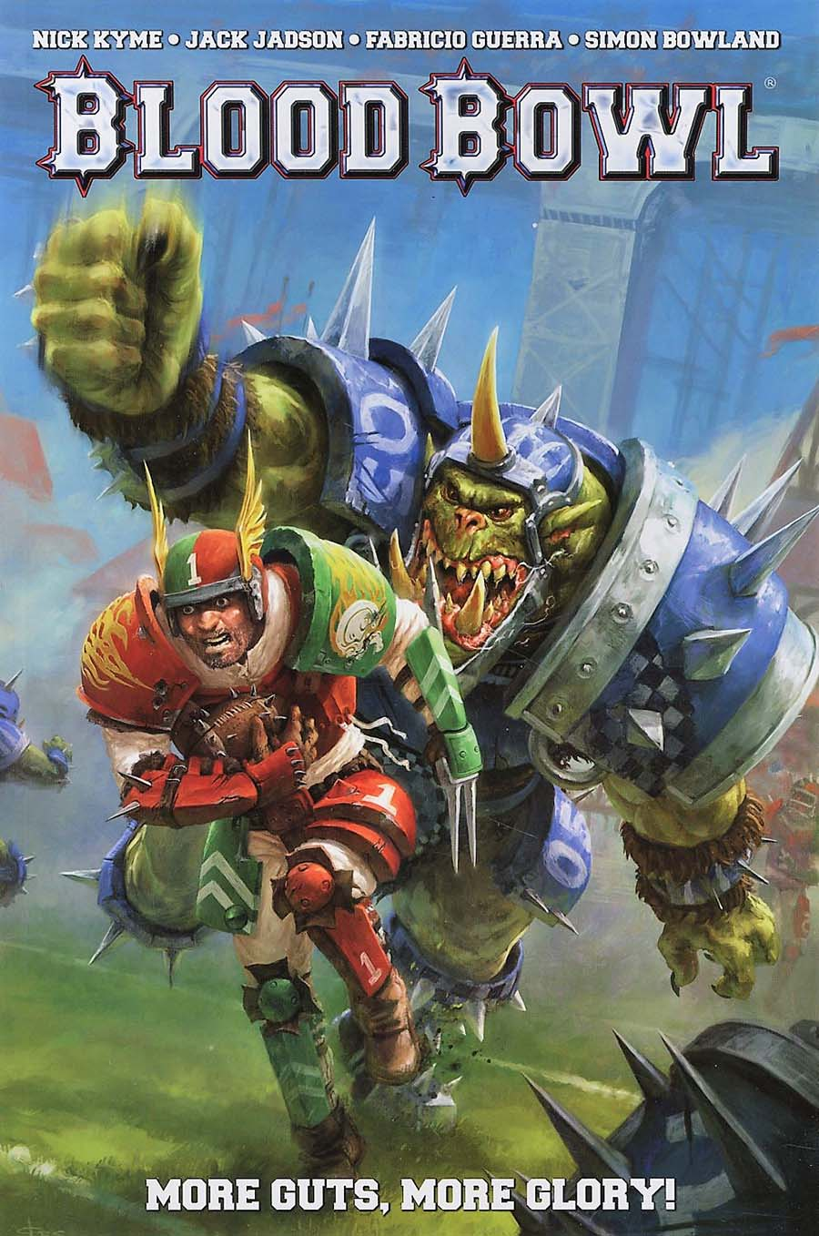 Blood Bowl Vol 1 More Guts More Glory TP
