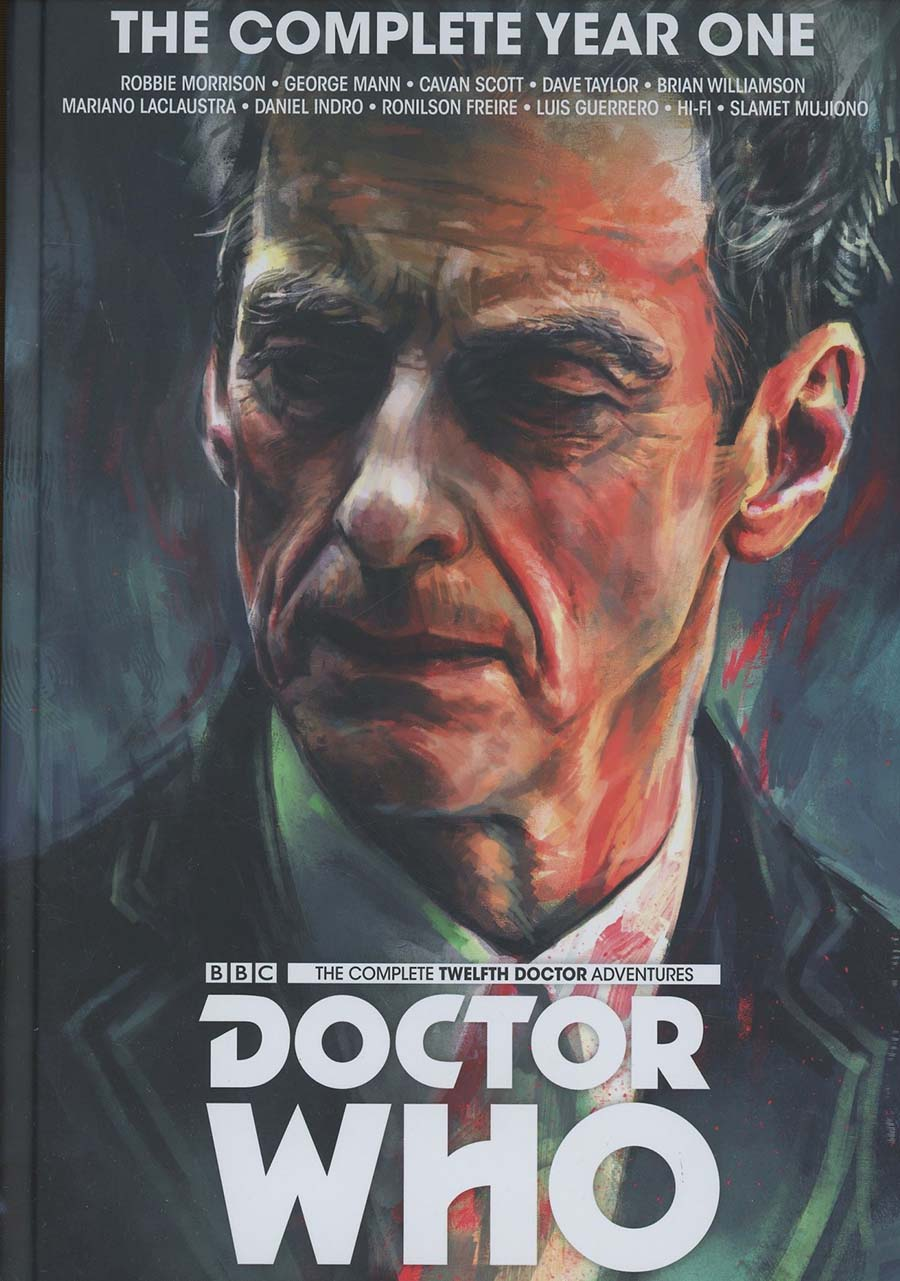 Doctor Who 12th Doctor Complete Year One HC