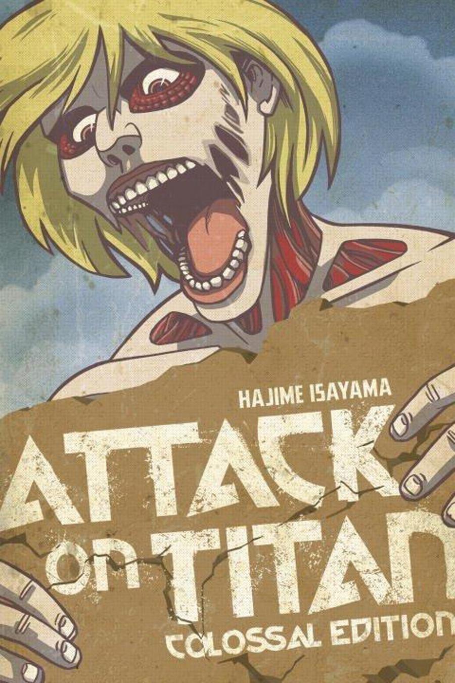 Attack On Titan Colossal Edition Vol 4 GN