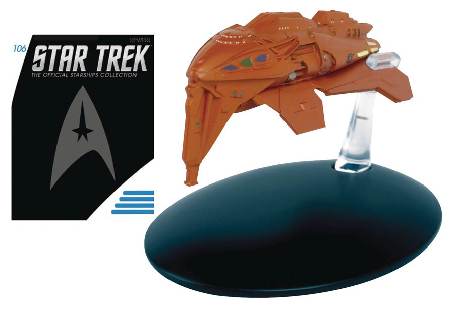 Star Trek Starships Figure Collection Magazine #106 Kazon Warship
