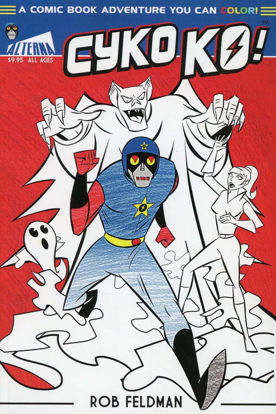 Cyko Ko A Comic Book Adventure You Can Color GN