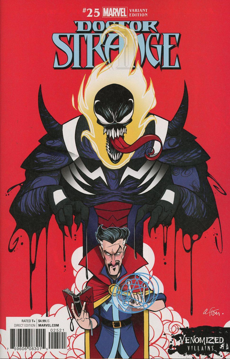 Doctor Strange Vol 4 #25 Cover B Variant Gustavo Duarte Venomized Dormammu Cover