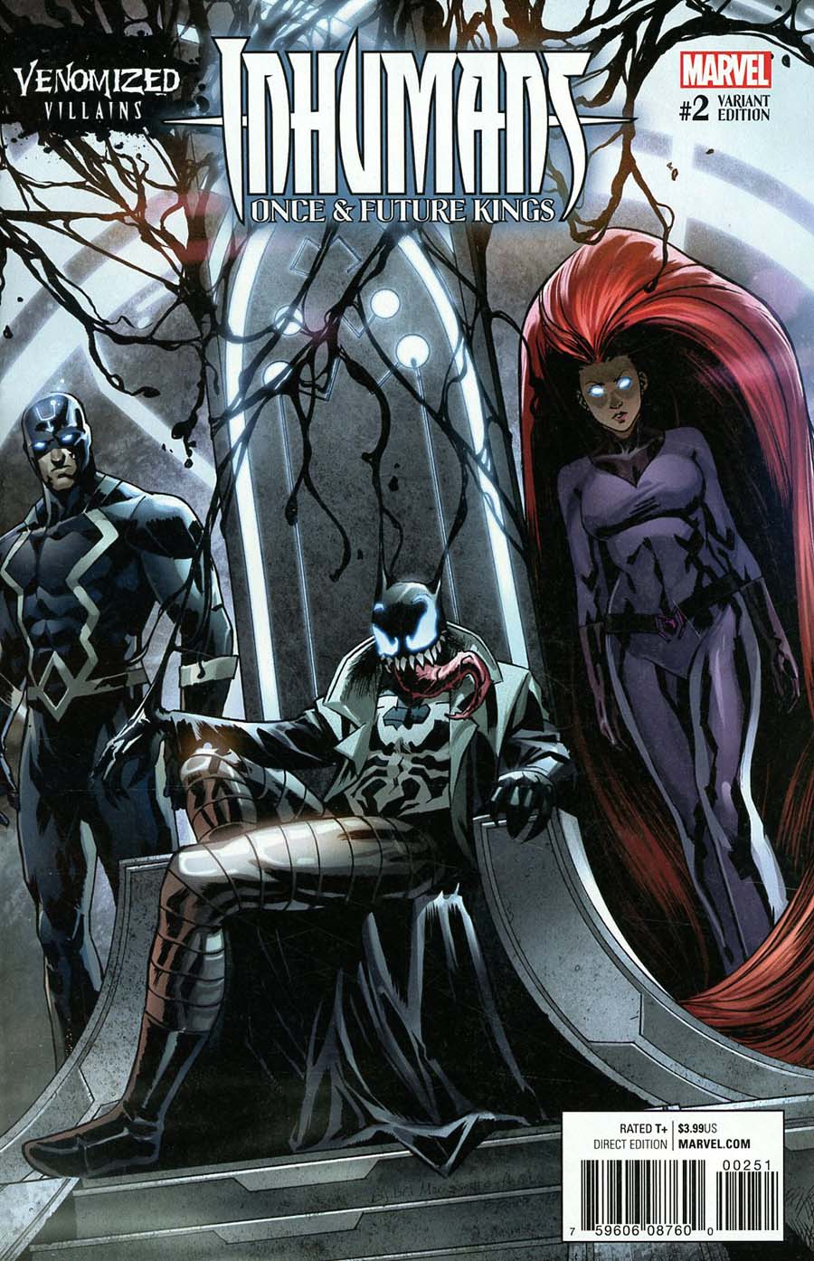 Inhumans Once And Future Kings #2 Cover C Variant Djibril Morissette Venomized Maximus The Mad Cover