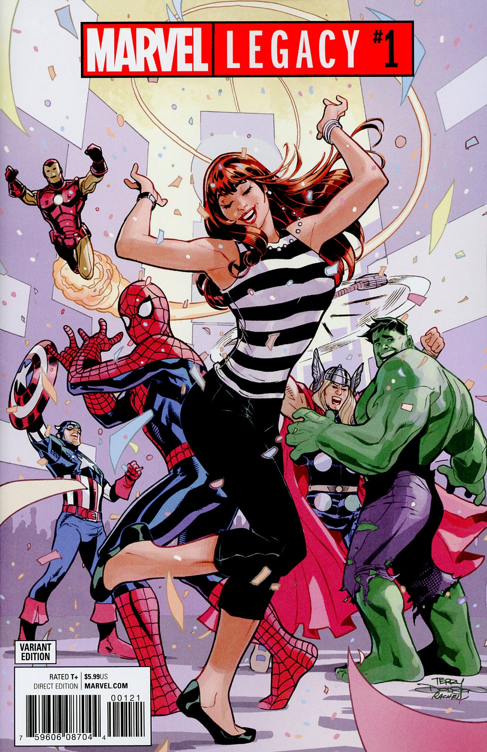 Marvel Legacy #1 Cover D Variant Terry Dodson Party Cover