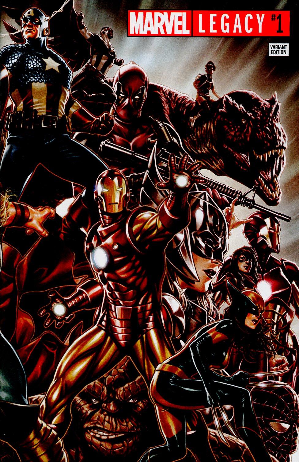 Marvel Legacy #1 Cover E Variant Mark Brooks Wraparound Cover