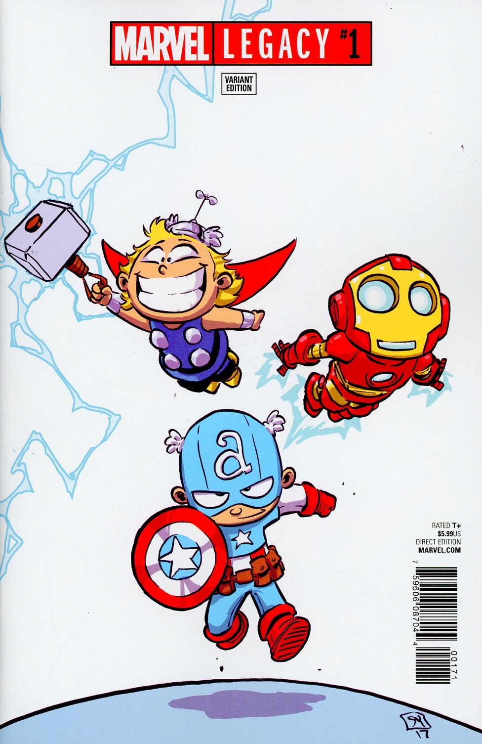 Marvel Legacy #1 Cover F Variant Skottie Young Baby Cover