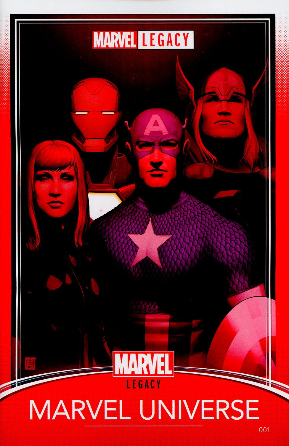Marvel Legacy #1 Cover G Variant John Tyler Christopher Trading Card Cover