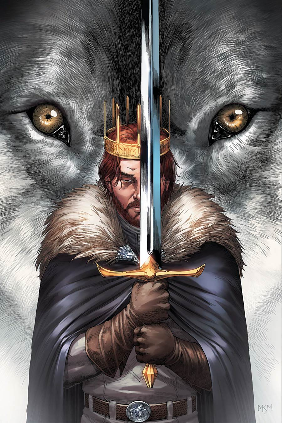 Game Of Thrones Clash Of Kings #4 Cover E Incentive Mike Miller Virgin Cover