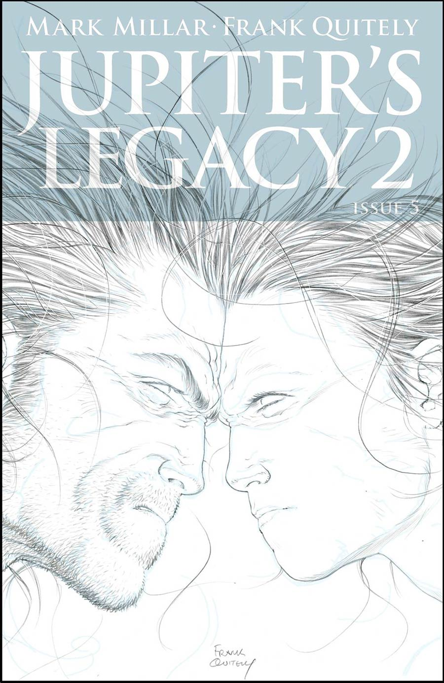 Jupiters Legacy Vol 2 #5 Cover B Incentive Frank Quitely Sketch Cover