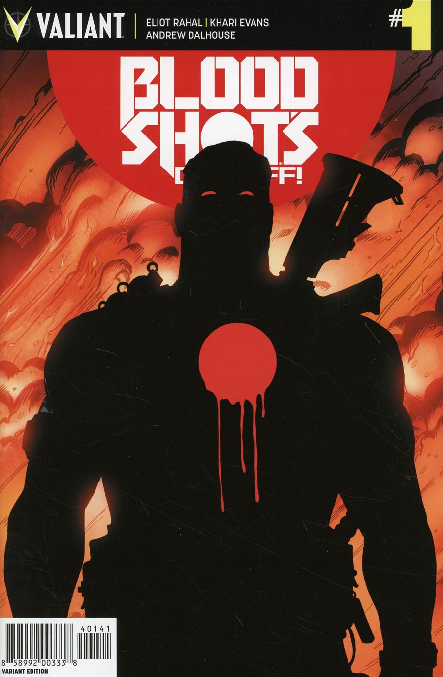 Bloodshots Day Off #1 Cover D Incentive Ben Tiesma Variant Cover