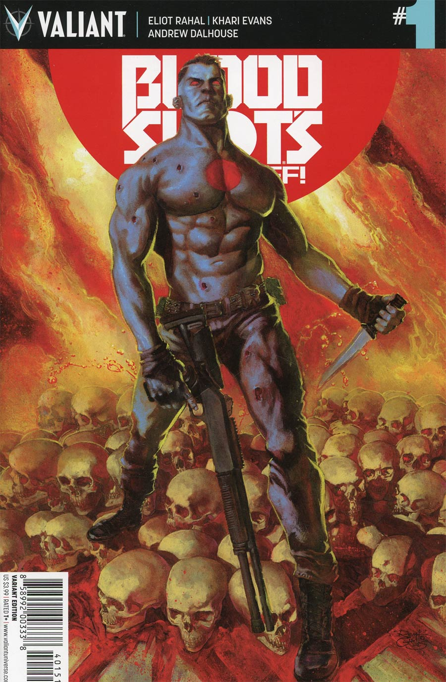 Bloodshots Day Off #1 Cover E Incentive Renato Guedes Variant Cover