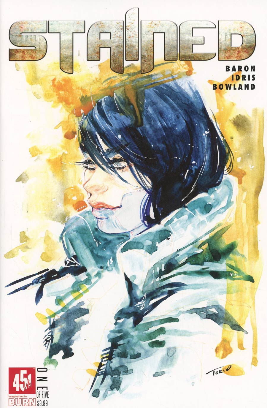 Stained #1 Cover D 2nd Ptg Victoria Gedvillas Cover