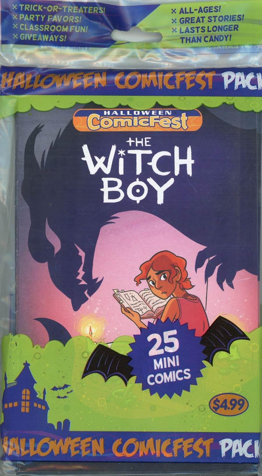 HCF 2017 Witch Boy Mini Comic Polypack (25-Copy Bundle)