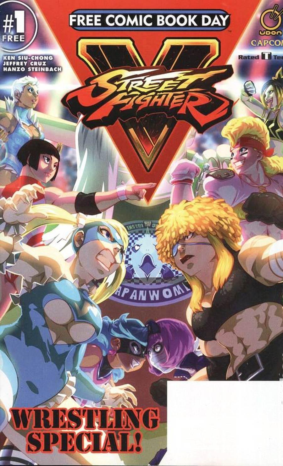 Street Fighter V Wrestling Special FCBD 2017