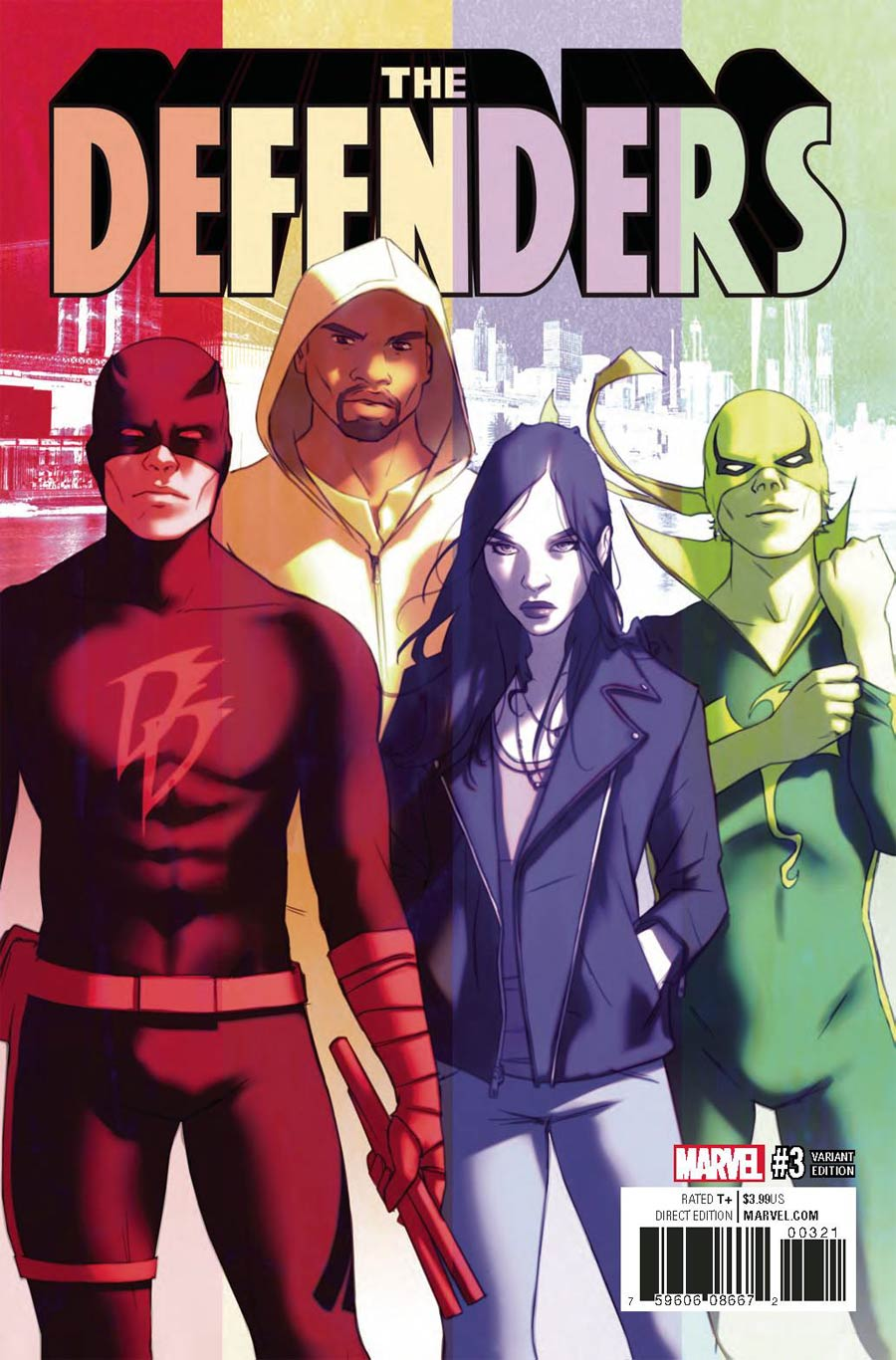 Defenders Vol 5 #3 Cover C Incentive W Scott Forbes Variant Cover