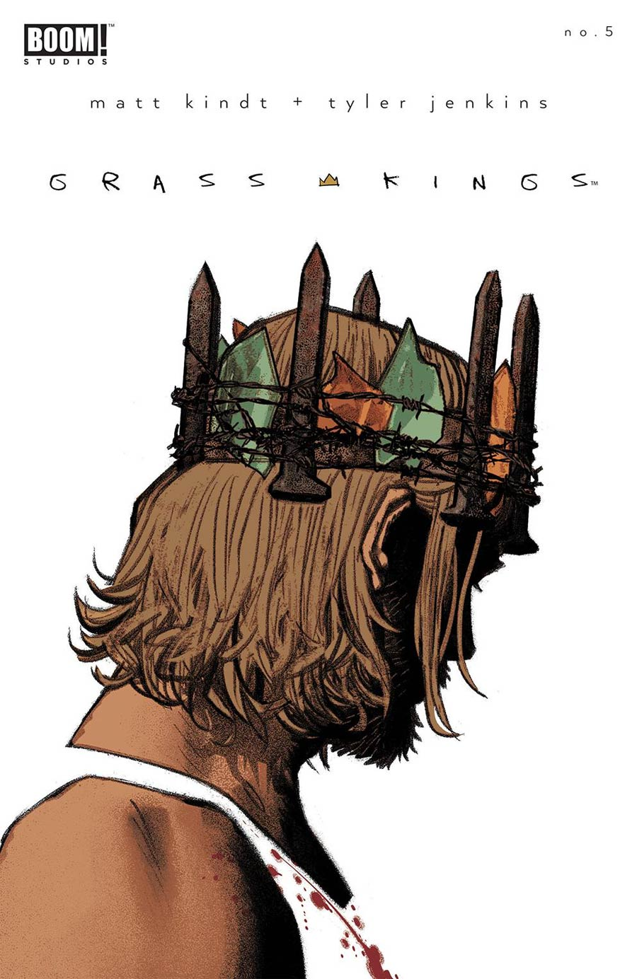 Grass Kings #5 Cover C Variant Greg Smallwood Cover