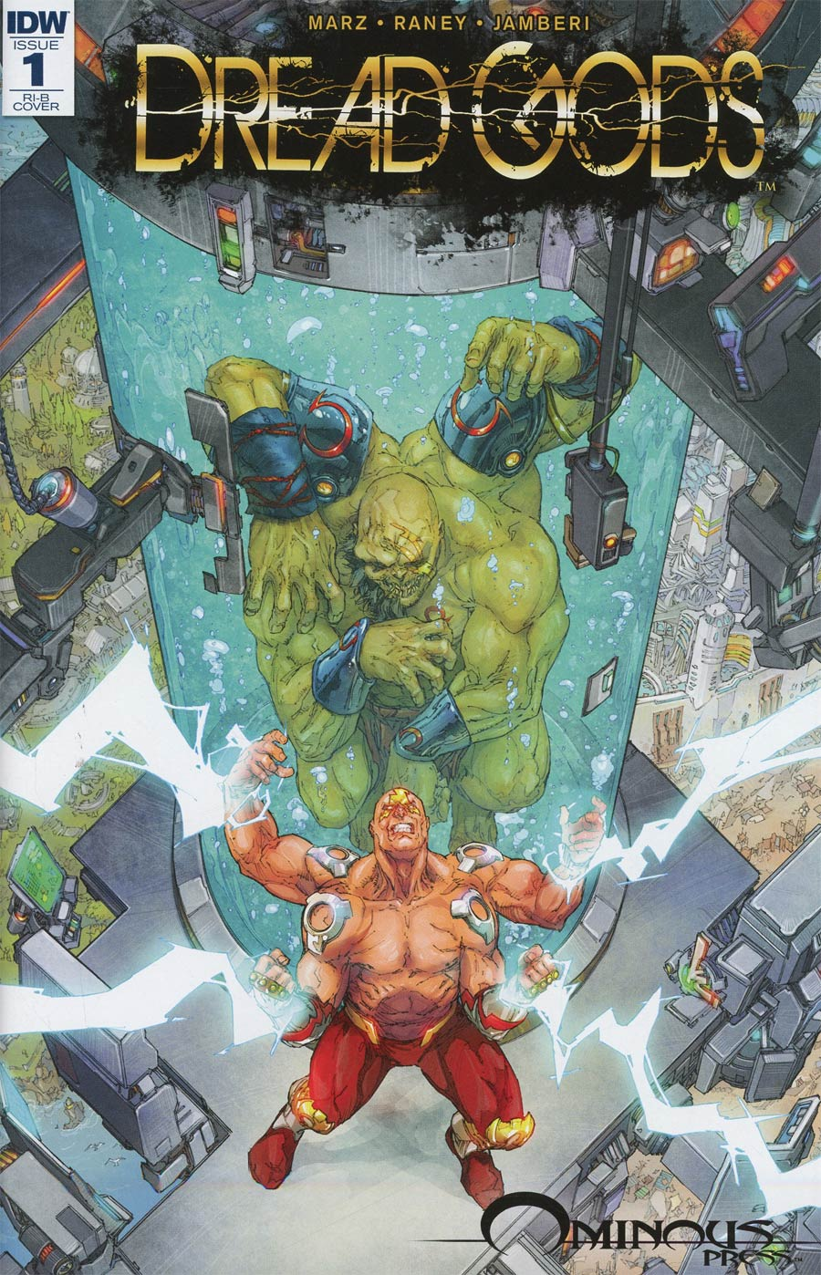 Dread Gods #1 Cover C Incentive Kenneth Rocafort Variant Cover