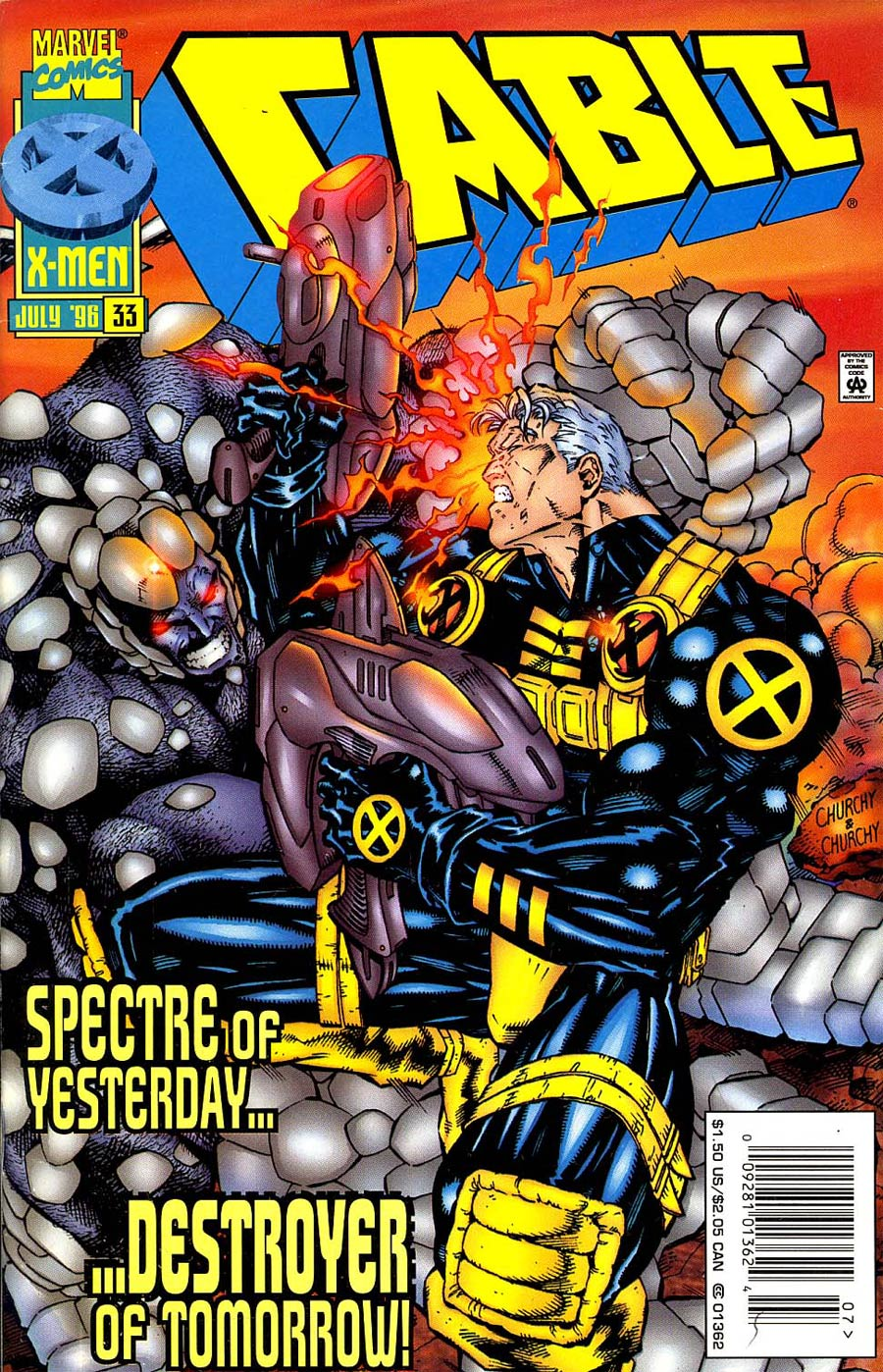 Cable #33 Cover B Newsstand Edition