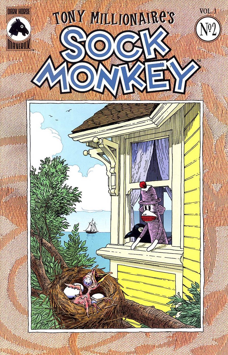 Sock Monkey Vol 3 #2