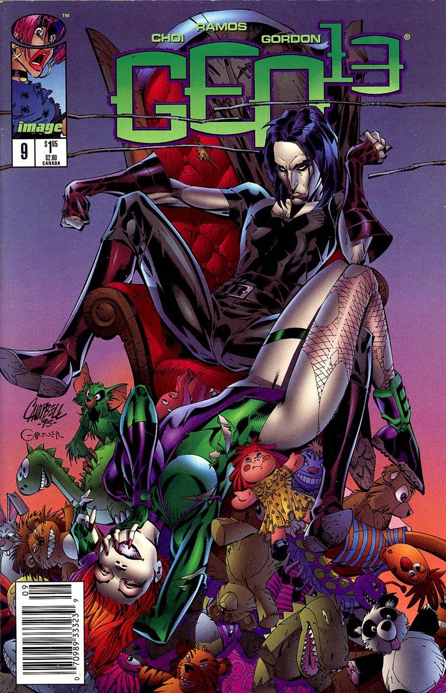 Gen 13 Vol 2 #9 Cover B Newsstand Edition