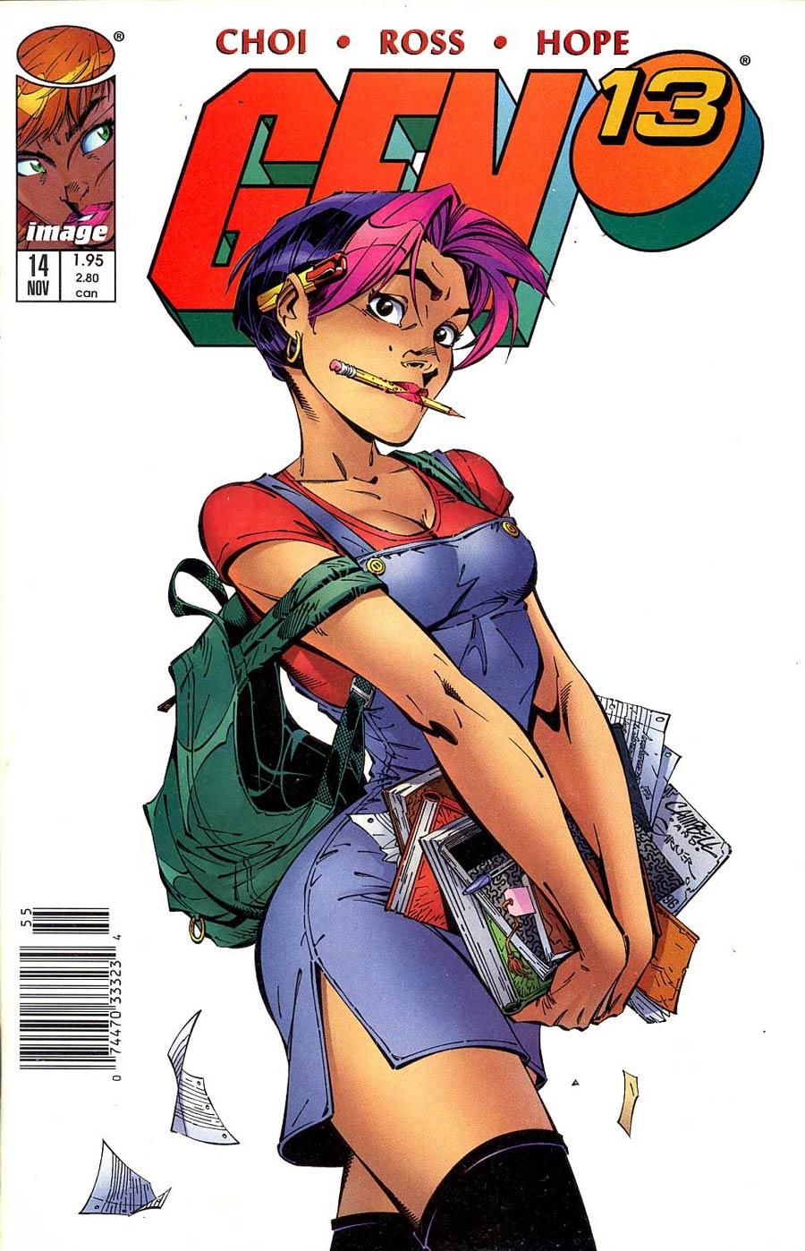 Gen 13 Vol 2 #14 Cover B Newsstand Edition