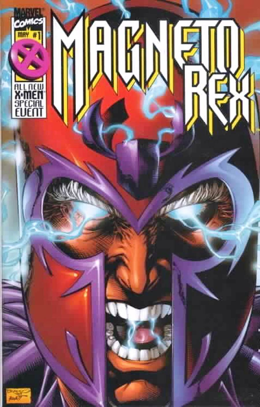 Magneto Rex #1 Cover C DF Variant Cover