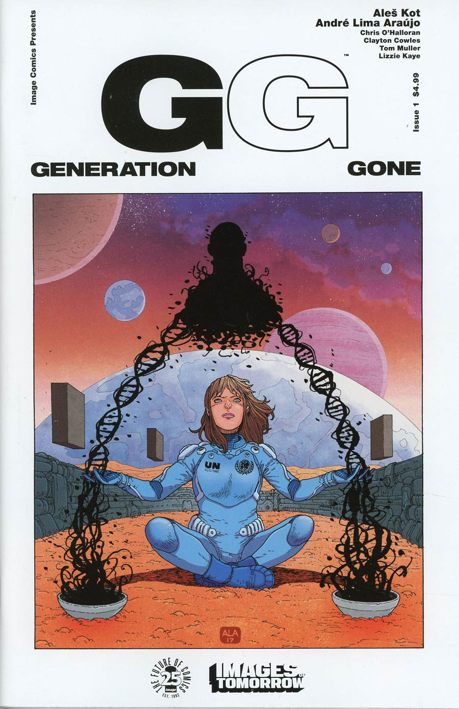 Generation Gone #1 Cover B Variant Andre Araujo Images Of Tomorrow Cover
