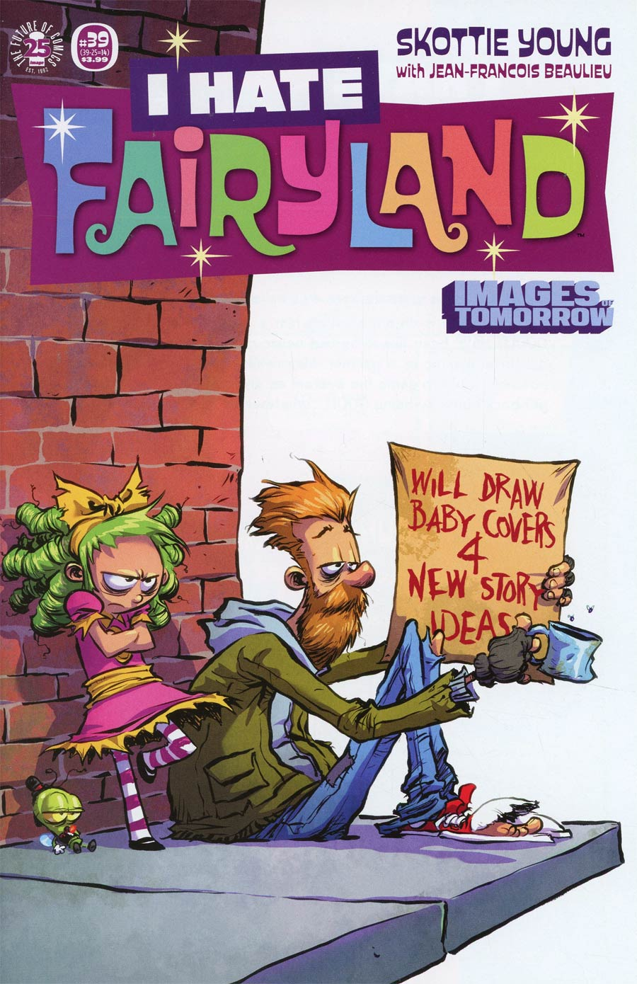 I Hate Fairyland #14 Cover C Variant Skottie Young Images Of Tomorrow Cover