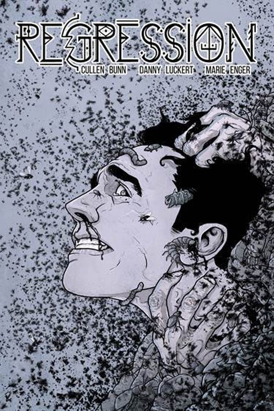 Regression #1 Cover E 3rd Ptg Danny Luckert Variant Cover