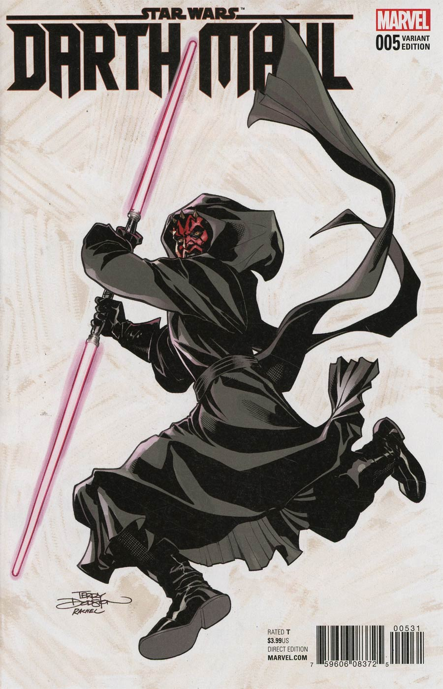 Star Wars Darth Maul #5 Cover D Incentive Terry Dodson Variant Cover
