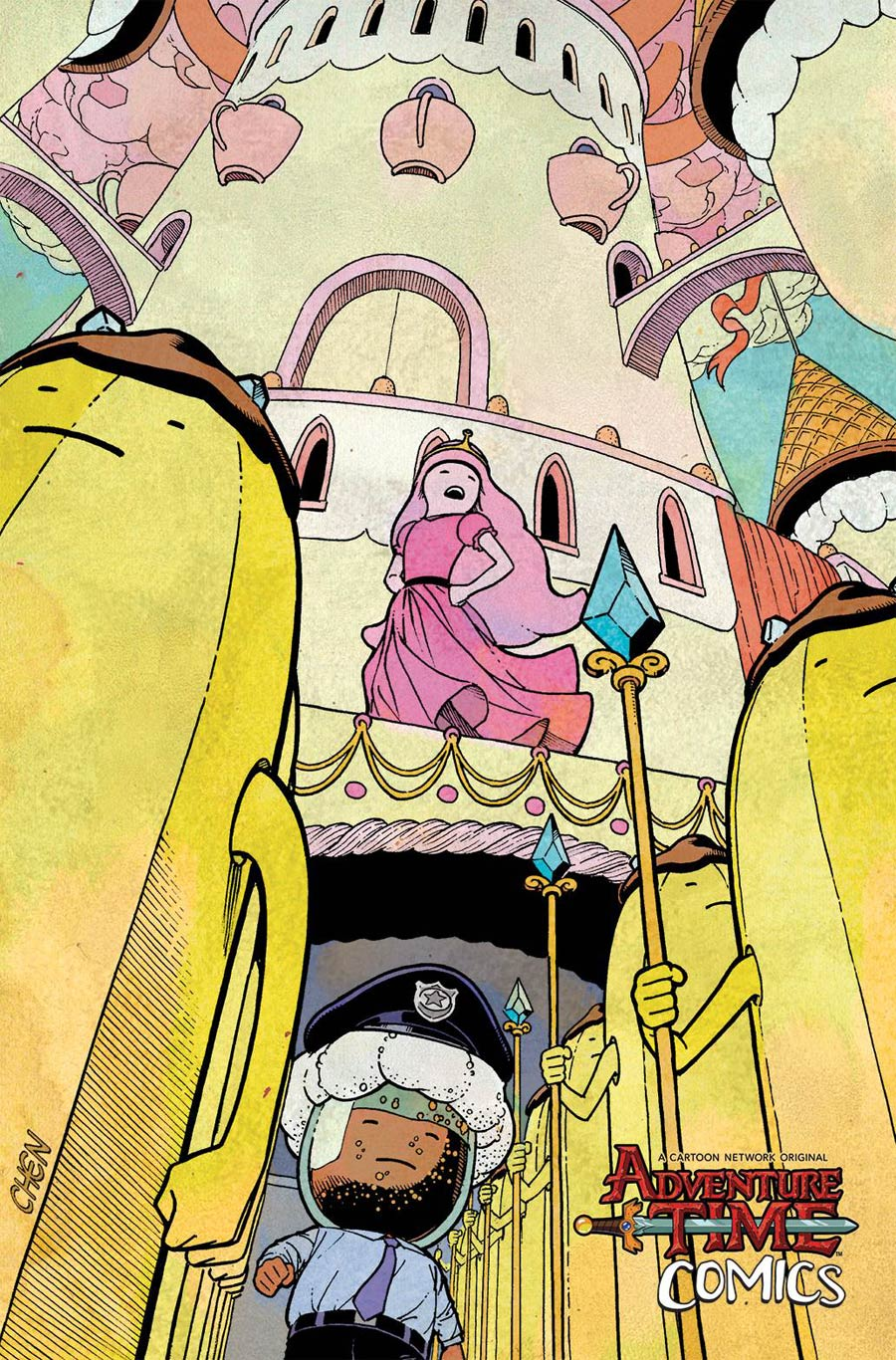 Adventure Time Comics #13 Cover C Incentive Matt Smigiel Virgin Variant Cover