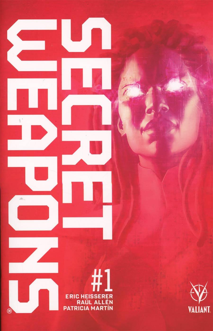 Secret Weapons Vol 2 #1 Cover K Variant Raul Allen Cover
