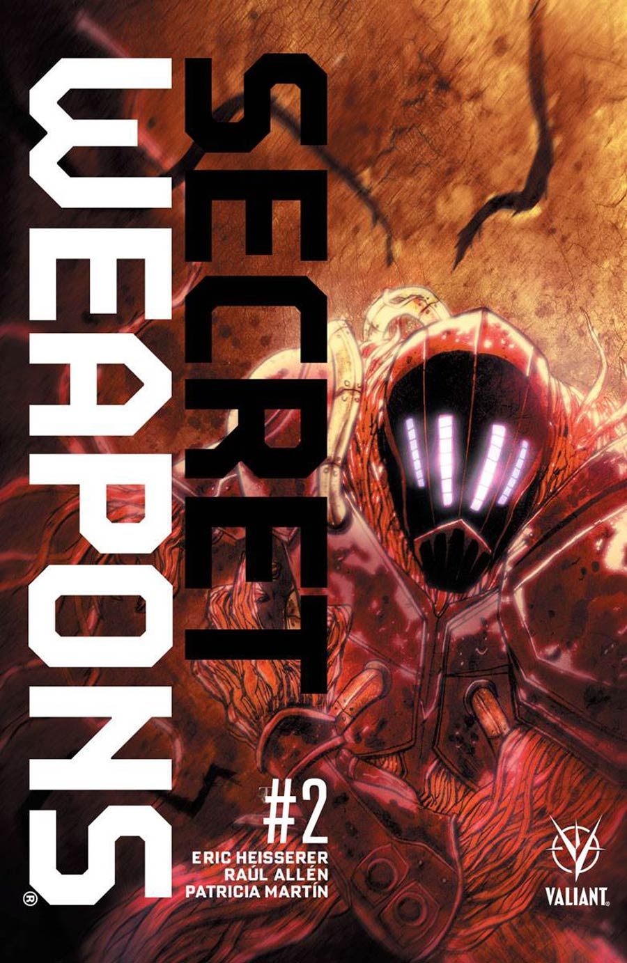 Secret Weapons Vol 2 #2 Cover E Incentive Ben Templesmith Variant Cover