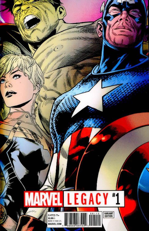 Marvel Legacy #1 Cover B Variant Joe Quesada Lenticular Cover
