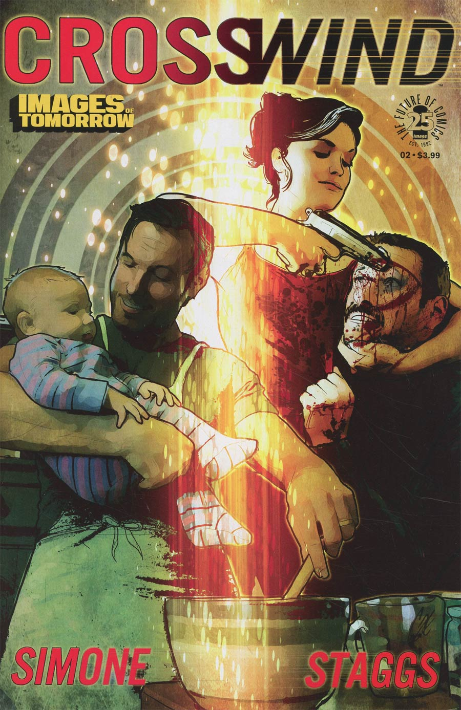 Crosswind #2 Cover C Variant Cat Staggs Images Of Tomorrow Cover