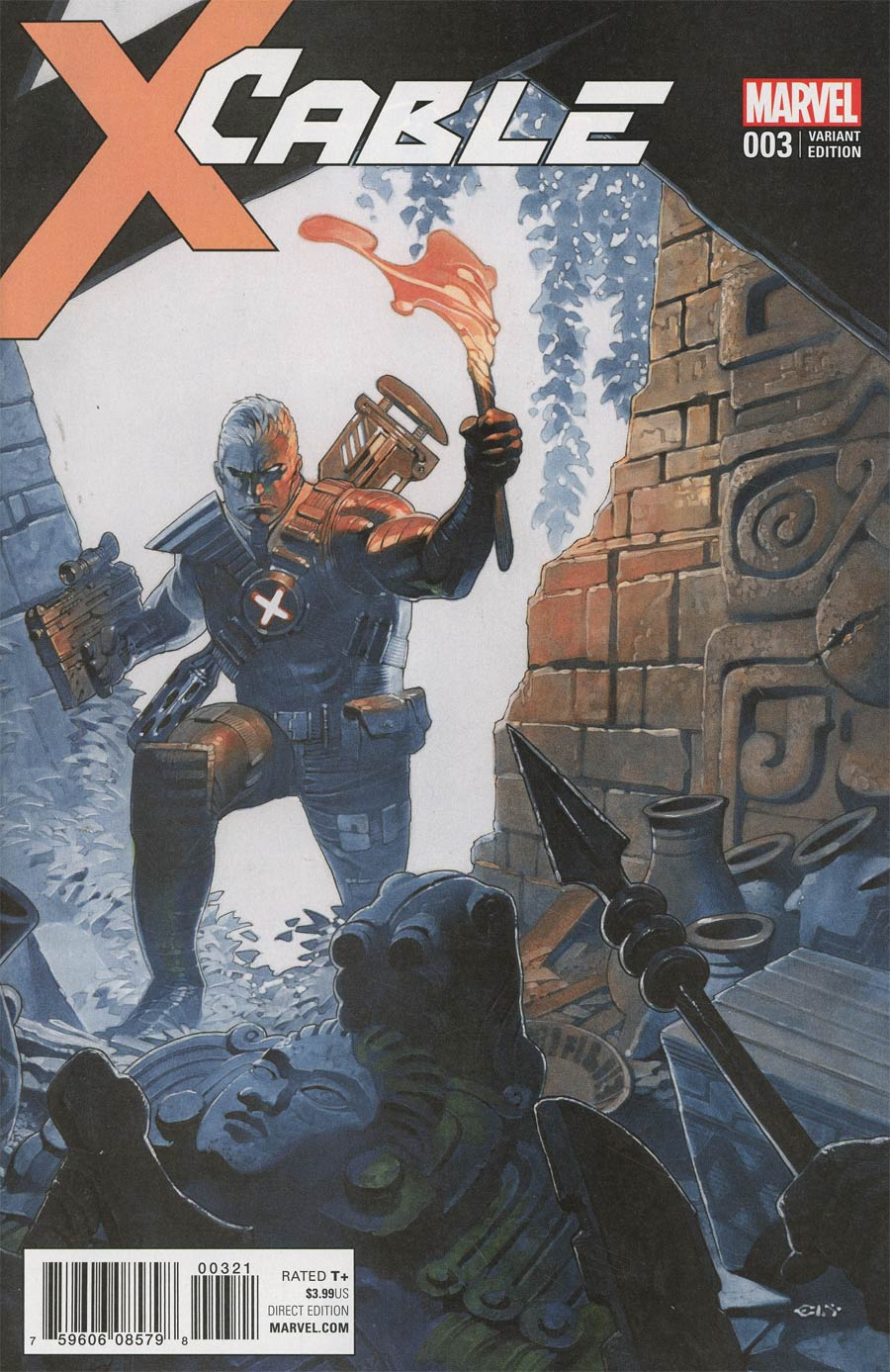 Cable Vol 3 #3 Cover C Incentive Chris Stevens Variant Cover