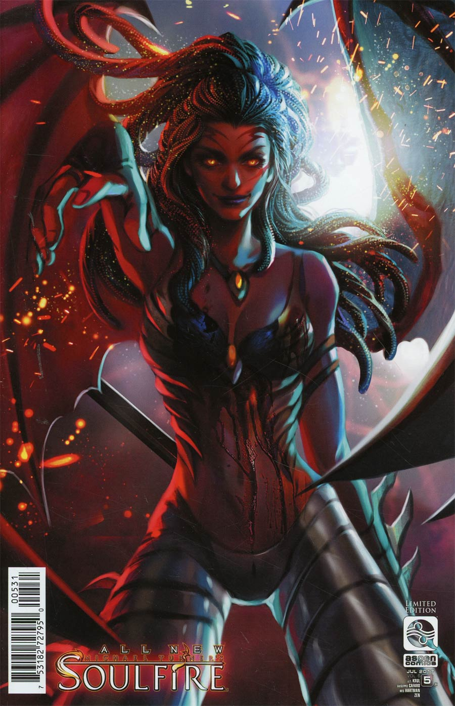 All New Soulfire Vol 2 #5 Cover C Incentive Fan Yang Variant Cover
