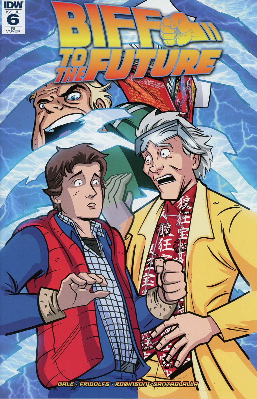 Back To The Future Biff To The Future #6 Cover C Incentive Anthony Marques Variant Cover